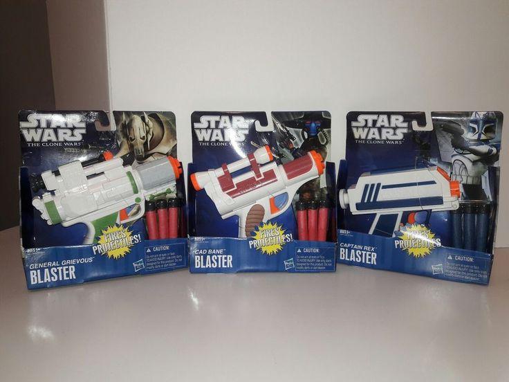 HASBRO Nerf Toy Gun STAR WARS The Clone Wars  Blasters Pistol Soft Dart - Asst'd | Toys & Hobbies, Action Figures, TV, Movie & Video Games | eBay!