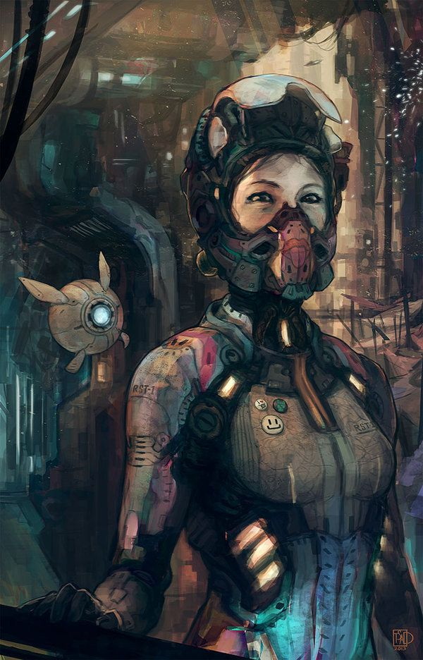 rust hour by ~tsad on deviantART #cyberpunk #sci-fi
