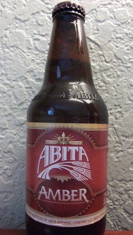 Cerveja Abita Amber, estilo Vienna Lager, produzida por Abita Brewing Company, Estados Unidos. 4.5% ABV de álcool.