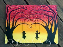 Image result for canvas painting ideas for teenagers