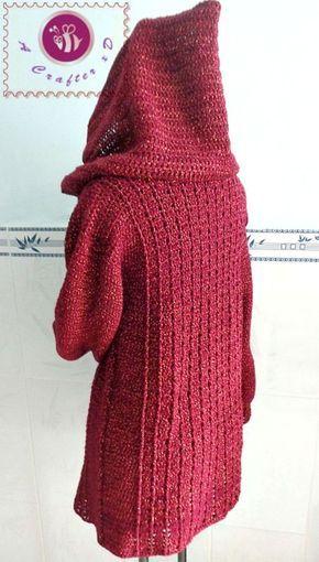Crochet Hooded Sweater Free Pattern Best Ideas