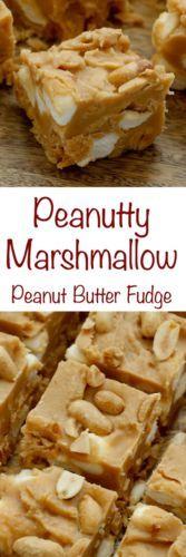 Peanutty Marshmallow Fudge