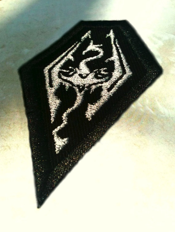 Skyrim Patch by alltheragefaces on Etsy, $5.00
