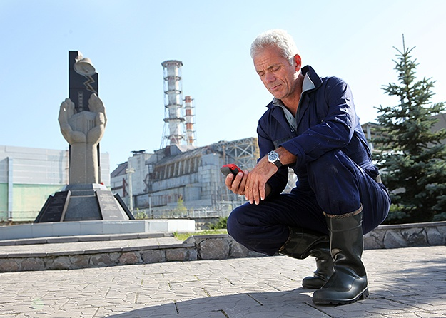Two of my favorite fascinations ... Jeremy Wade and Chernobyl.