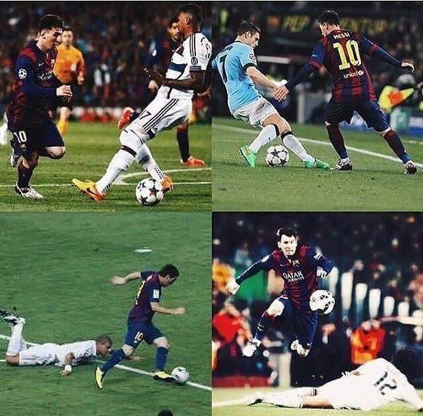 Ośmieszył chyba wszystkich najlepszych obrońców na świecie • Lionela Messiego chyba nie da się powstrzymać • Wejdź i zobacz więcej >> #messi #lionelmessi #barca #barcelona #fcbarcelona #football #soccer #sports #pilkanozna #futbol