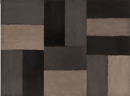 Sean Scully: Doric sky is one of the 'Doric' series of large-format #paintings produced between 2008 and 2014, conceived as an homage to Ancien #Greece.