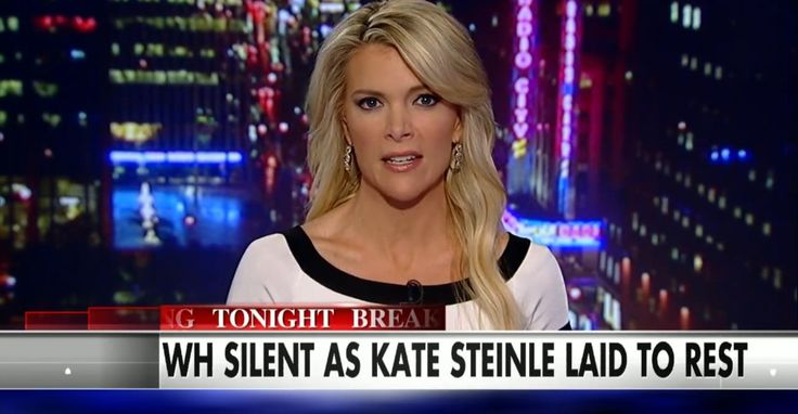 """Megyn Kelly: Why Is Obama Silent About Kate Steinle?In the wake of 32-year-old Kate Steinle's murder by an illegal immigrant in San Francisco, the Obama administration has remained silent, Fox News host Megyn Kelly pointed out. """"Surrounded by friends and family, it does not appear at this hour that anyone from the Obama administration was in attendance,"""" Kelly said of Steinle's funeral services that were held Thursday evening."""