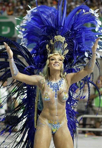 Праздничный костюм бразильца