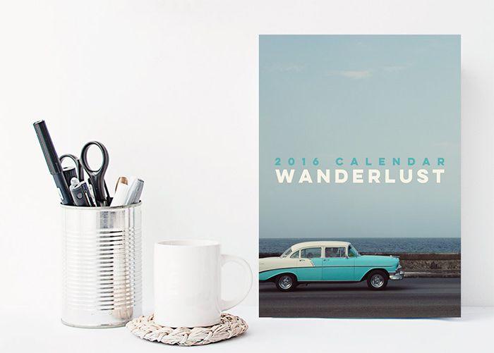 50 Absolutely Beautiful 2016 Calendar Designs