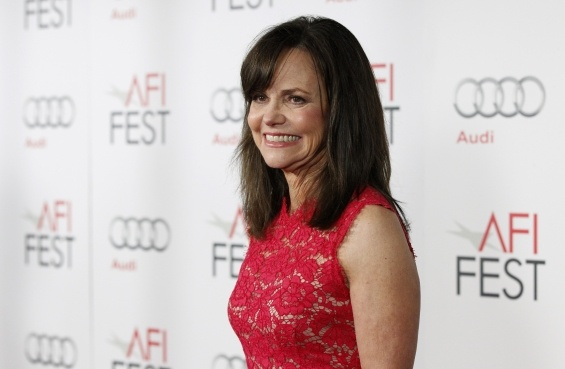 "Sally Field portrays the wife of Abraham Lincoln in Spielberg's new movie, ""Lincoln"".  She has always been my hero -- now more than ever as she stands up for social justice as a mom and in the roles she plays.  See the interview on Oprah's OWNTV.  She says to Oprah, ""failures are treasures"".  So very true..."