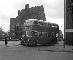 PMT Bus leaving the bus station in Chancery Lane