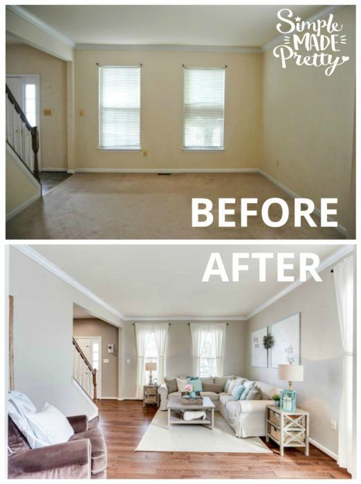 these before after pictures will inspire you to update your home rh pinterest com
