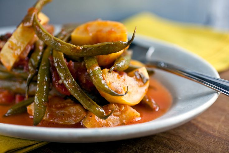 ... about stewed greenbeans on Pinterest | Ribs, Stew and Tomato recipe