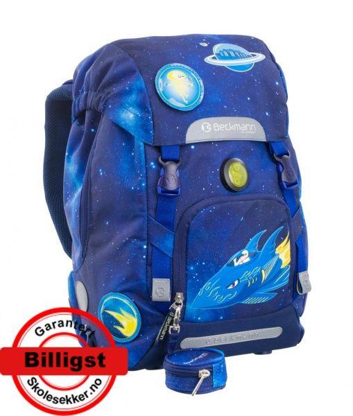 Skolesekk Beckmann 1. Klasse Space 22L