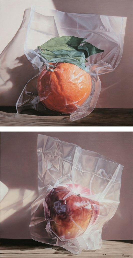 Realistic Still Life Paintings by Vesna Bursich