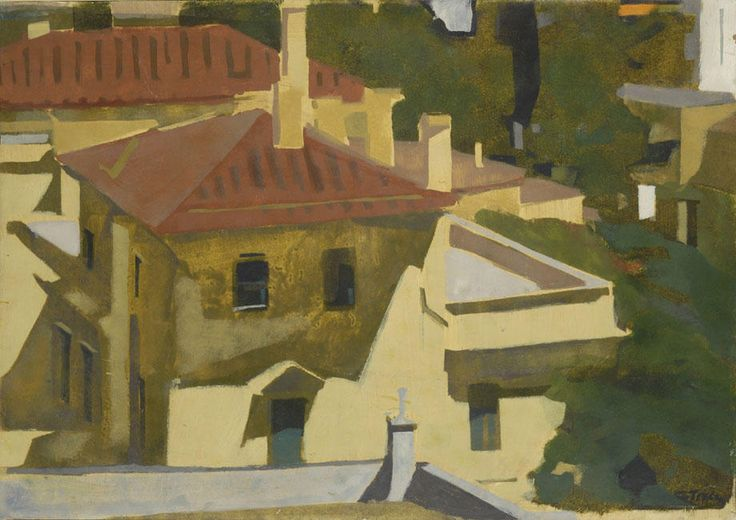 'Red roofs' by Panayiotis Tetsis