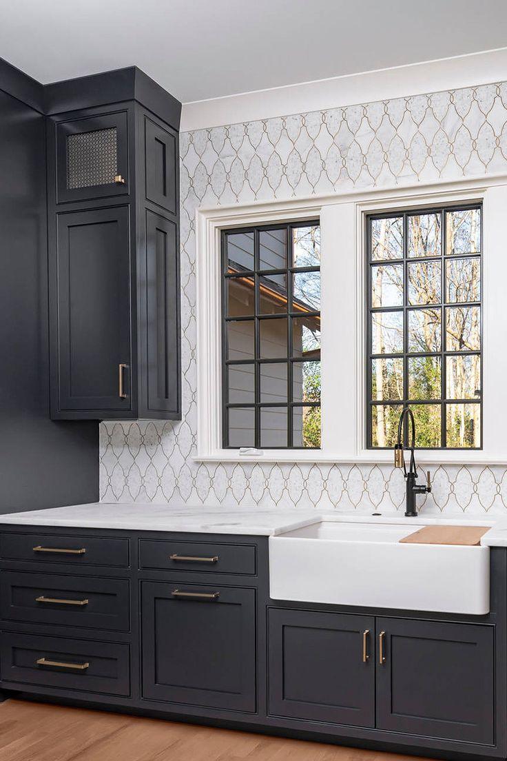 """39+ ( Black ) Kitchen Cabinet Ideas - """" Entering the Dark ..."""