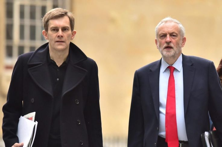 8/16/17 eremy Corbyn's top aides are moving to Labour's HQ to purge it of his critics as the hard-left takeover of the party continues  Leader's director of communications Seumas Milne will switch offices to restructure senior staff and take on all-powerful role