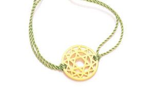 Click Here To Shop The Gold Heart Chakra Bracelet From Daisy London