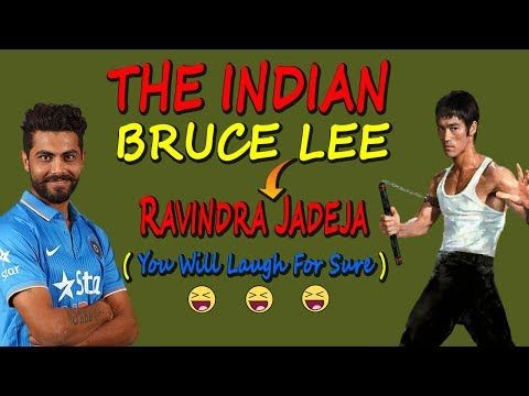 The Indian Bruce Lee | Ravindra Jadeja | You Will Laugh For Sure !!! - (More info on: https://1-W-W.COM/Bowling/the-indian-bruce-lee-ravindra-jadeja-you-will-laugh-for-sure/)