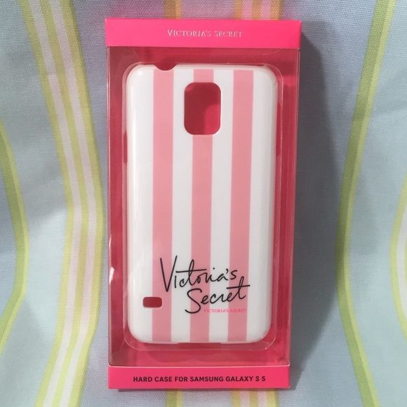 New Victoria's Secret Samsung Galaxy S5 case New in box Victoria Secret Samsung Galaxy S5 lace  phone hard case.  This is for Galaxy S 5.    trades Victoria's Secret Accessories Phone Cases