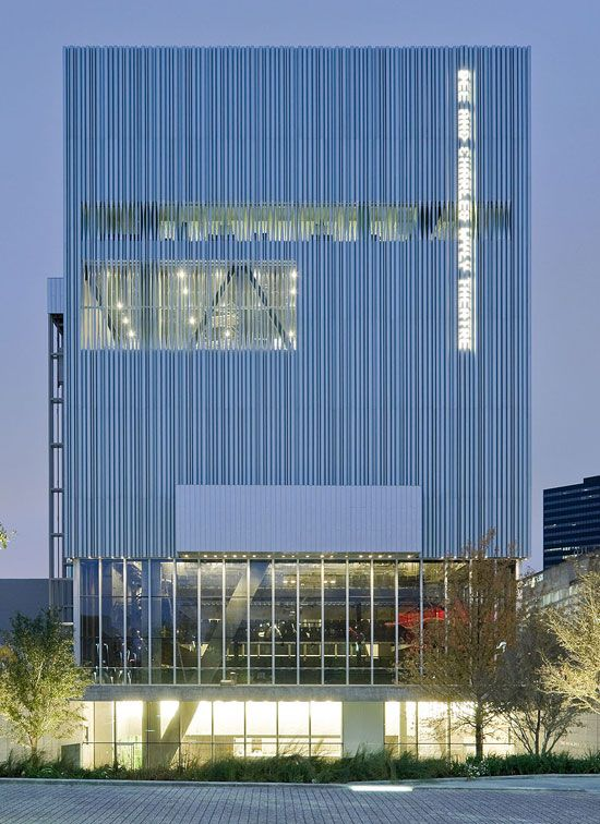 REX / OMA Architecture: Wyly Theatre Opens In Dallas