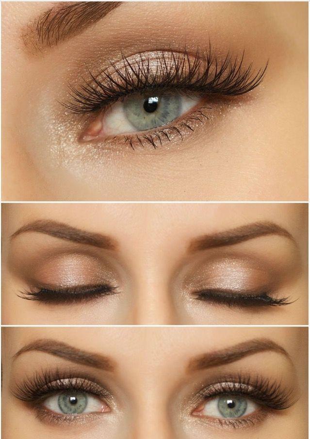 Natural Wedding Makeup For Blue Eyes Blue Eye Makeup Beautiful