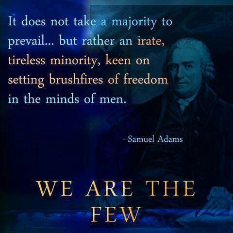 Fake. It's also been attributed to John Adams, and states that it seems to have originated as a paraphrase of something by that Adams from a 1987 article in Parade magazine. The earliest publication of this quote yet found is 1990. https://en.wikiquote.org/wiki/Samuel_Adams