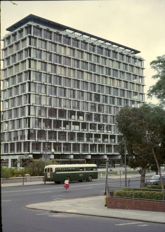144236PD: Council House, St George's Terrace, Perth, 1967. http://purl.slwa.wa.gov.au/slwa_b3898980_1