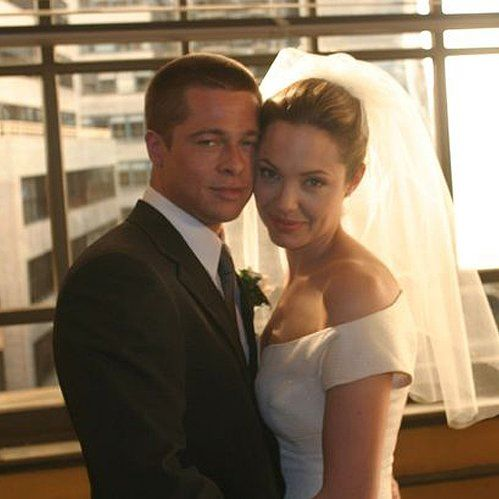 The Only Picture of Brad Pitt and Angelina Jolie's Wedding You're Going to See: In case you haven't heard the news, Brad Pitt and Angelina Jolie are married!