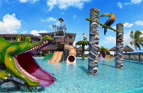 Hoteles de playa todo incluido en Cancún