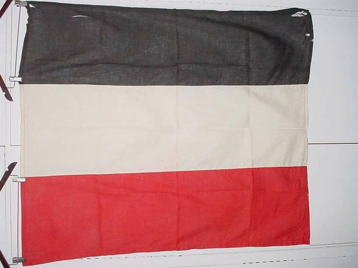 mperial German flag, 1.18m x 1.13m, a bit tatty, see photos. This comes from an old German family in Windhoek, but does not look like an officially made flag, possibly a locally made one during the German South West Africa period. (Reichsflagge).