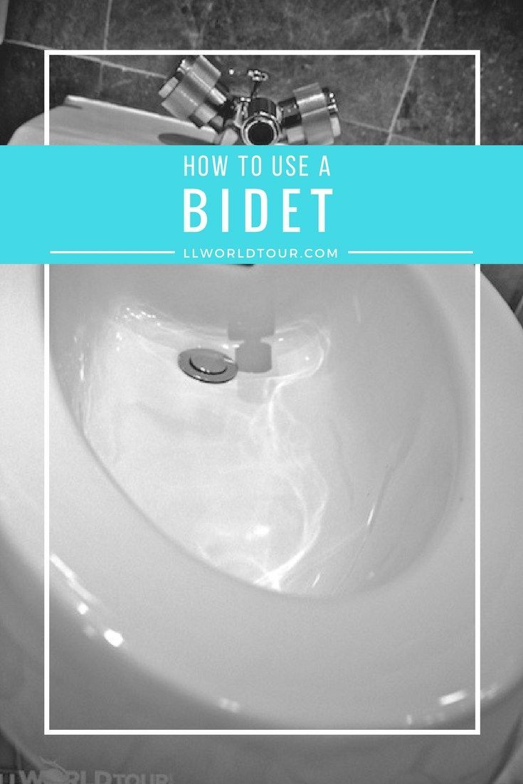 Big On Bidets How Do You Use A Bidet What Is A Bidet For