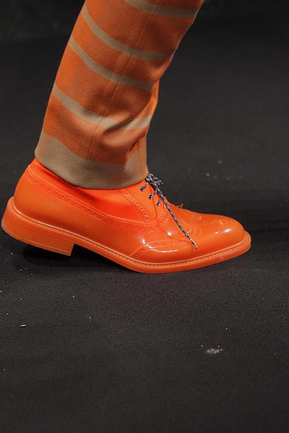 Get all the juicy details!  Orange you glad it's Vivienne Westwood MAN AW13/14!