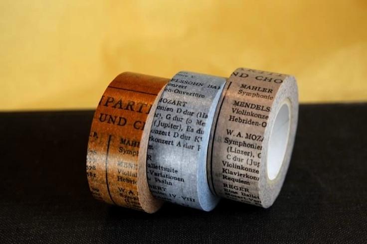 Cinta escritura antigua