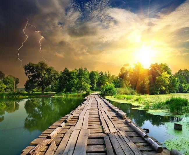 วัสดุพื้นหลังธรรมชาติสดเส้นทางแม่น้ำ ในปี 2020 ไอเดียจัด