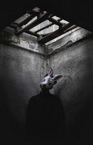 Eerie | Creepy | Surreal | Uncanny | Strange | 不気味 | Mystérieux | Strano | horror rabbit | by Giorgia Cinelli