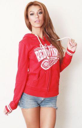 Detroit Red Wings women's hoodie