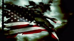 An old, worn American flag waves on time lapse clouds - Old Glory 0306 HD, 4K by alunablue https://www.pond5.com/stock-footage/62793287/old-worn-american-flag-waves-time-lapse-clouds-old-glory-030.html