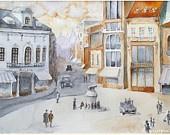 La belle epoque in Bucharest  - ETSY Collection