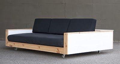 les 25 meilleures id es de la cat gorie canap fait maison sur pinterest petit canap canap. Black Bedroom Furniture Sets. Home Design Ideas
