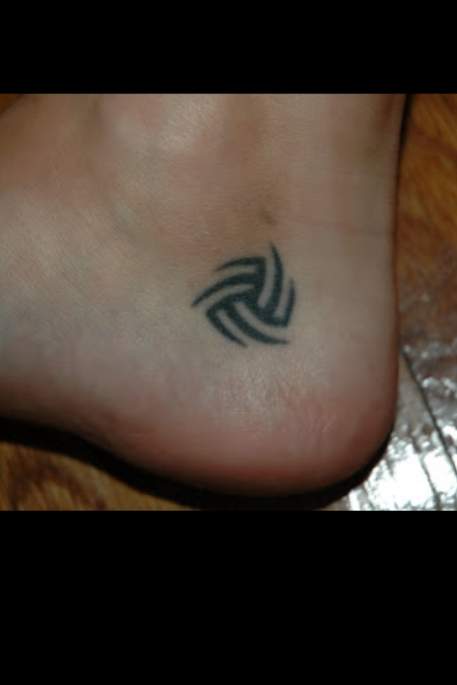 Volleyball tattoo, easy first tattoo!