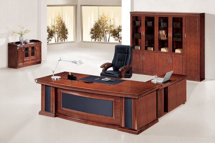 Home Office Furniture At Wooden Furniture Store: New Design Wood Office Furniture