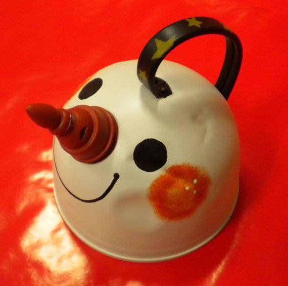 Junk to Gem  Repurposed tea kettle