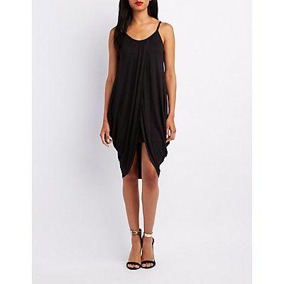 Black Tulip Shift Dress - Size XS