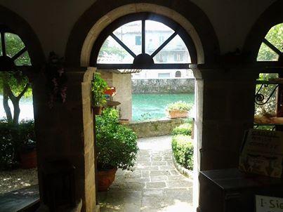 Santa Fiora, Tuscany - Beautiful archway to the peschiara #santafiora, #tuscany