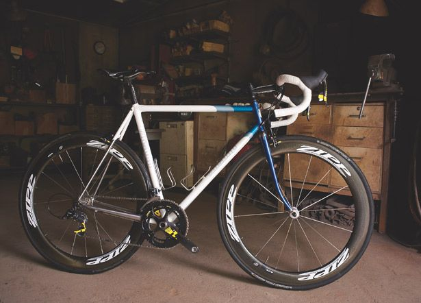 Bishop Custom Road Bike - $4,500 Frame And Fork http://www.bicycling.com/bikes-gear/reviews/the-best-custom-dream-bikes/slide/9