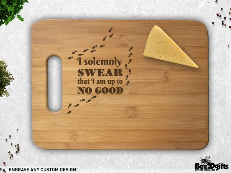 excellent design cool cutting boards. Solemnly Sear Foot Prints Harry Potter Inspired Engraved Cutting Board 12 best Cool A  Boards images on Pinterest Chopping
