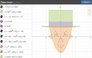 Des-man! Great review & extension task for linear and quadratic functions
