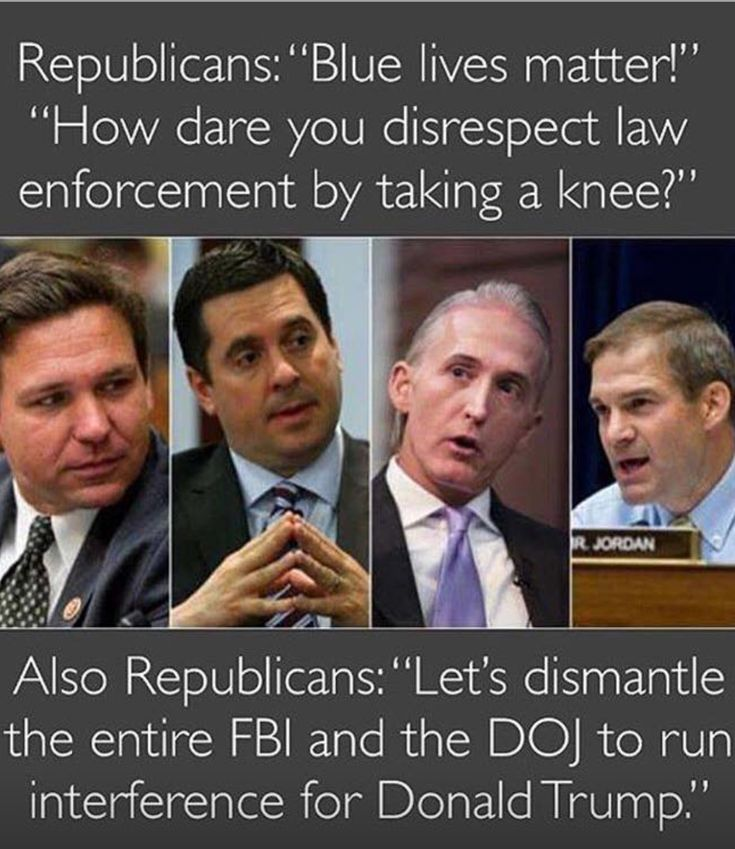 These are the Biggest, Sleaziest, Liars & Crooks in Congress! They are working Overtime to Obstruct, Discredit and Shut Down The Mueller Investigation For trump!! If trump is Innocent Of Wrong Doing, Money Laundering, Russia Collusion & Obstruction Of Justice, seems to me they'd want the TRUTH to come out to Clear him!! NO!! They are Desperately trying to Cover For trump!! WHY???